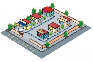Condomínio Comercial (Horizontal) e Mini Centros Comerciais e Residenciais